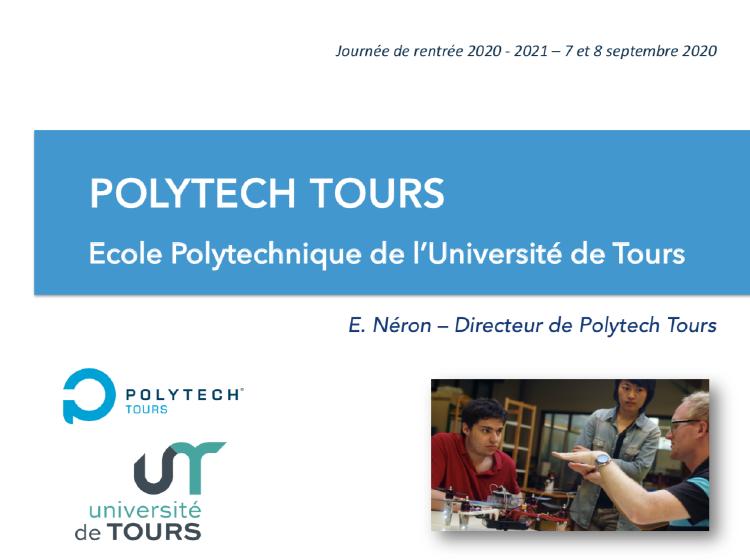 Rentree Polytech Tours